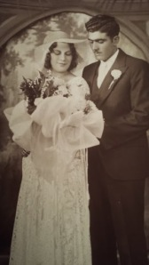 My Grandparents Wedding Picture 1930