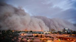 Phoenix Arizona Haboob July 5, 2014